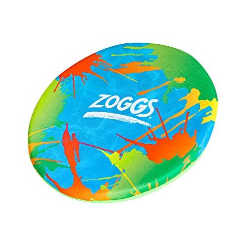 Zoggs Unisex-Frisbee aus Schaumstoff, 20 cm, Fliegende Scheibe, Pool-Spielzeug, Mehrfarbig