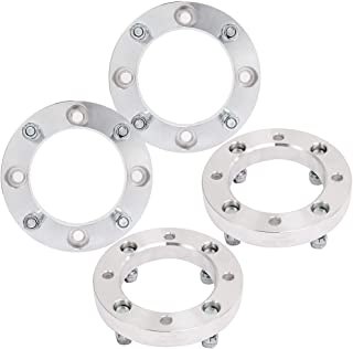 cciyu 2X 1 inch 25mm Thick 4x137mm to 4x137mm 4 Lug Wheel spacers with 10x1.25 Studs Compatible with Can-Am Commander 1000 Bombardier Outlander 330 400