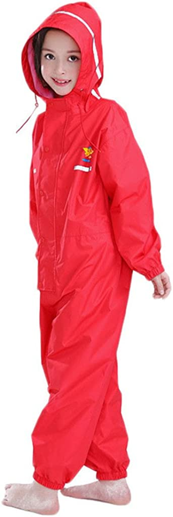 Kids Raincoat Ponchos Overall New mail order Rainsuit Ranking TOP2 Rain and Boys Girls Gear