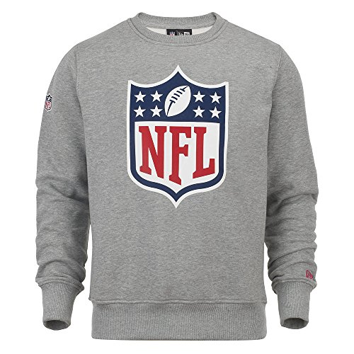 New Era Pullover - NFL Brand Logo Heather Gris
