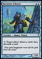 Magic: the Gathering - Reckless Scholar (60) - Zendikar