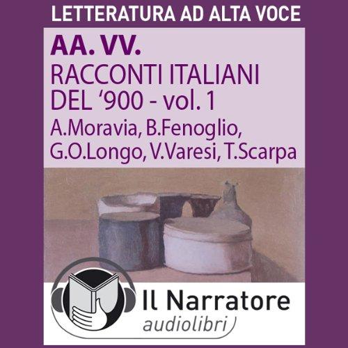 Couverture de Racconti italiani del Novecento