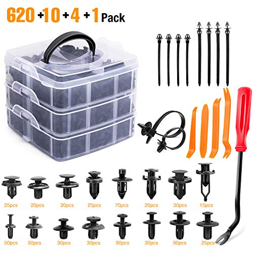 GOOACC 635Pcs Car Push Retainer ...