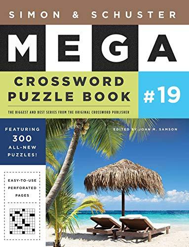 Simon & Schuster Mega Crossword Puzzle Book #19 (Volume 19) (S&S Mega Crossword Puzzles, Band 19)