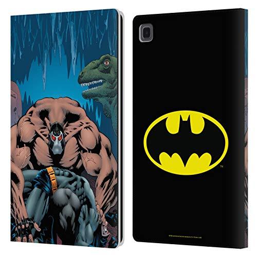 Head Case Designs Licenza Ufficiale Batman DC Comics Knightfall Volume Uno Copertine di Libri Comici Famosi Cover in Pelle a Portafoglio Compatibile con Galaxy Tab A7 10.4 (2020)