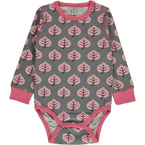 Maxomorra Maxomorra Baby Body Langarm Leaf 50/56