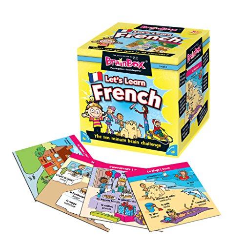 Brain Box- Juego Aprendamos Francés, Multicolor (BrainBox G0990055)