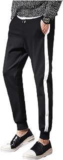 [アンリ] ジャージ ジョガーパンツ トラックパンツ リブタイプ ルームウェア スポーツウェア ジム M ~ 4XL メンズ