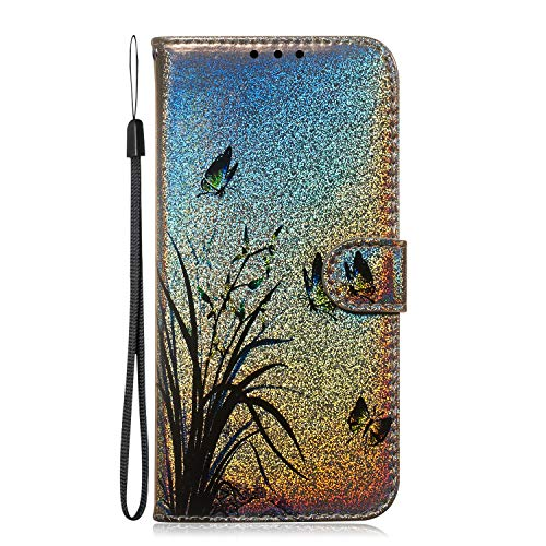 Great Deal! NEXCURIO Wallet Case for Huawei Y7 2019/Y7 Pro 2019 with Card Holder Side Pocket Kicksta...