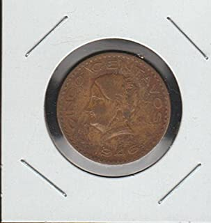 1946 MX National Arms, Eagle Left Nickel Very Fine