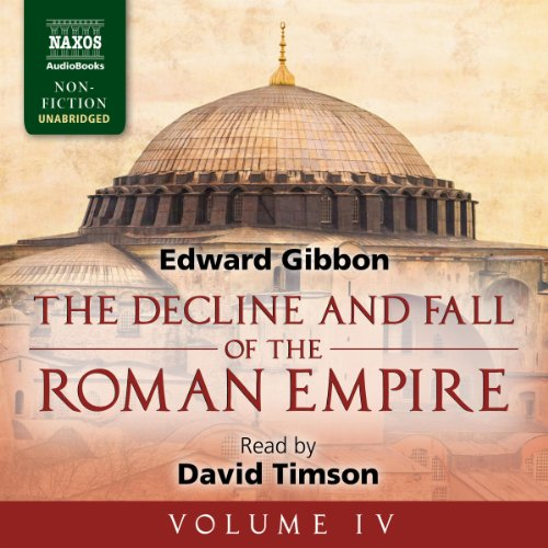 The Decline and Fall of the Roman Empire, Volume IV audiobook cover art