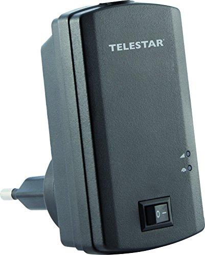 Telestar 5310505 Digiporty T 2 DVB-T2 HD WLAN Hotspot (streamt per Sender an eine kostenlose App) schwarz