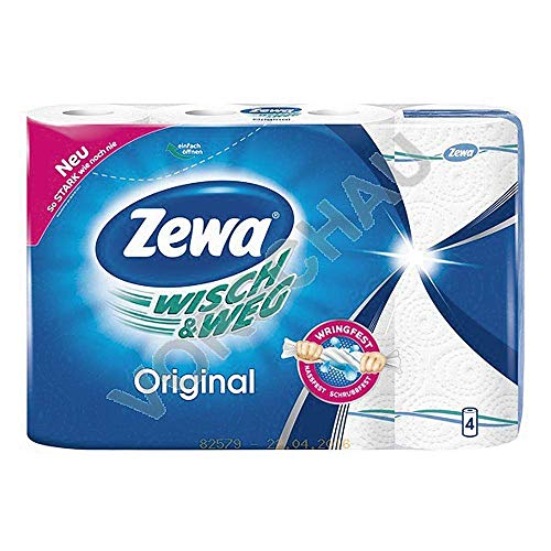 ZEWA Küchenrolle Wisch & Weg Original 45 Blatt 4er Pack