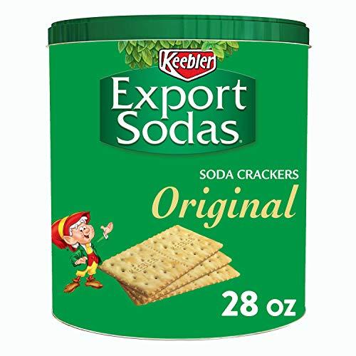 Keebler, Export Sodas, Crackers, Original, 28oz Can