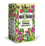 Heath & Heather Infusión orgánica de equinácea naturalmente libre de cafeína - 6 x 20 bolsitas de té (120 gramos)