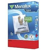 Menalux 3201 - Pack de 5 bolsas sintéticas y 1 filtro para aspiradoras Nilfisk...