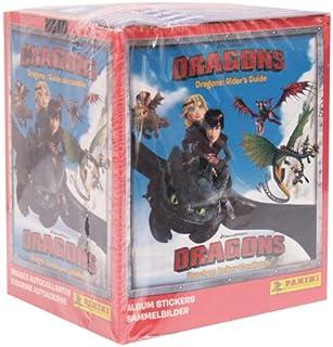 Dragons Guida Cavalieri Box 50 Bustine Figurine Panini Dragon Trainer