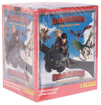 Panini DreamWorks DRAGONS Sticker Display mit 50 Tüten