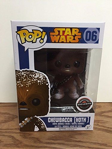 Funko - Figurine Star Wars - Chewbacca Hoth Exclu Pop 10cm - 0849803057749