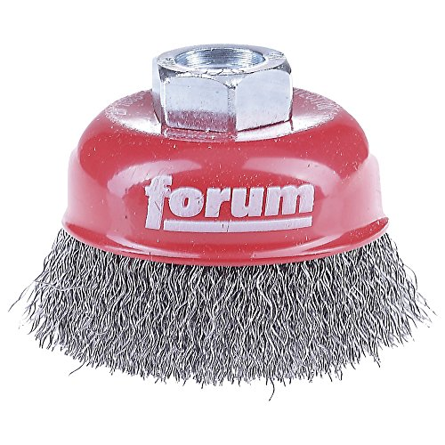 FORUM - Tête De Brosse Fil En Acier M14 60mm, 4317784861540