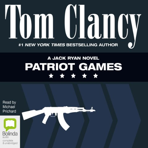 Patriot Games     Jack Ryan              By:                                                                                                                                 Tom Clancy                               Narrated by:                                                                                                                                 Michael Prichard                      Length: 20 hrs and 6 mins     121 ratings     Overall 4.6