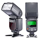 Neewer Flash Speedlite TTL NW-670 avec Ecran LCD pour Canon 7D Mark II, 5D Mark II...