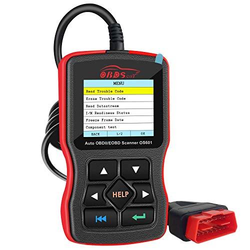 OBDScar OS601 EOBD OBD2 escáner Lector de código de Error del Motor automotriz Can Herramienta de diagnóstico (Modelo 2019)