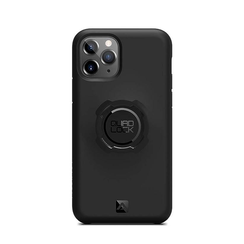 快適快適レタッチクアッドロック(QUAD LOCK) TPU ポリカーボネイト製ケース iPhone 11 Pro用 QLC-IP11PRO black