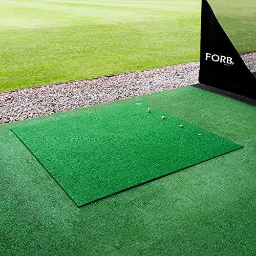 FORB Alfombra de Campo de Práctica de Golf – Estándar/Profesional [Net World Sports] (Estándar)