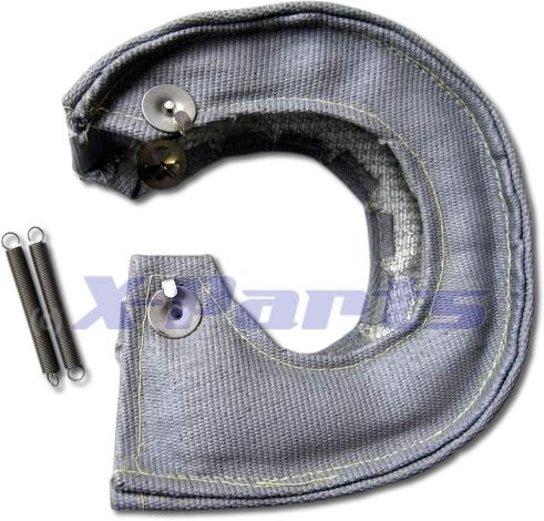 Preisvergleich Produktbild T4 Turbo Hitzeschutz Garrett KKK Turbo GRAU Keramik 1200°C Pampers