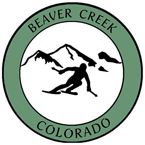 Beaver Creek, Colorado Ski Destination Decorative Car Truck Window Sticker...