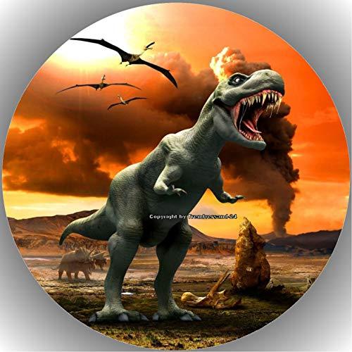 Premium Esspapier Tortenaufleger Dinosaurier AMA 3