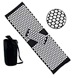 🎊🎊[Durable & Safe Material] - Made with eco-foam and ABS nail points, both the mat and the pillow are filled with foam, which is kind of firm. Helps with back pain, tension, stiffness, insomnia, fatigue and many other conditions. Great for people who...