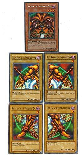 Yugioh 5 EXODIA Pieces Guaranteed with Rares 35 Card Lot