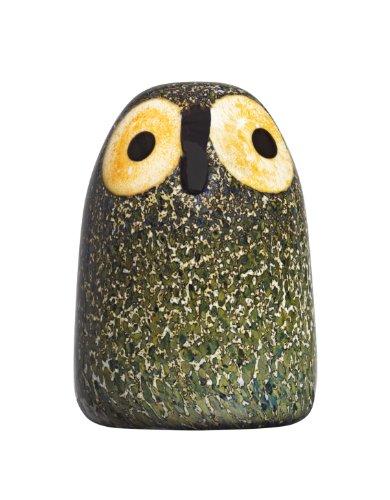 Iittala Birds of Toikka Mouthblown Glass Bird, Little Barn Owl