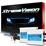 xtremevision 35w ac xenon hid bundle with slim ac ballast (1 pair) and 9006 5000k – 5k bright white xenon bulbs (1 pair)