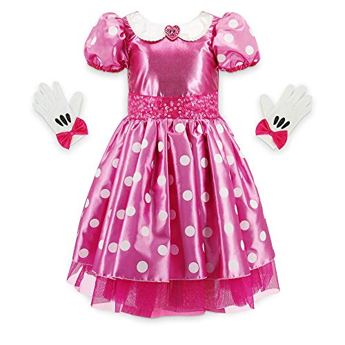 Disney Minnie Mouse Pink Costume for Girls, Size 7/8