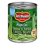 Del Monte Fresh Cut French Style Green Beans, 8 Oz (3 Cans)