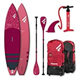 Fanatic Diamont 11.6 Air Touring Inflatable SUP Stand up Paddle Board Carbon 35 Paddel