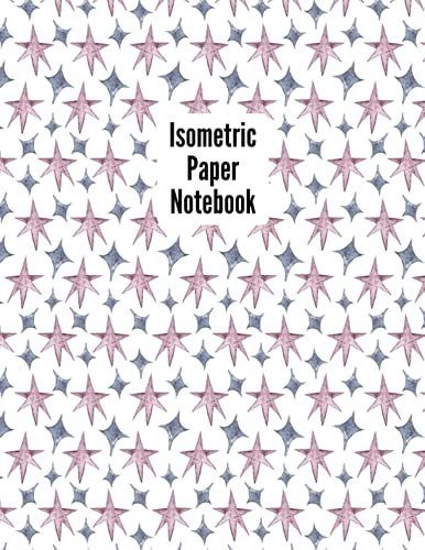 Isometric Paper Notebook: Teacher Themed, 1 Subject, Isometric Grid Graph Paper Book