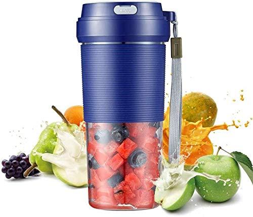 Mini Fruit Juicer Portable Blender 300ml draadloze USB oplaadbare Persoonlijke Small Juice Cup Machine Smoothie Shakes Mixer for Travel
