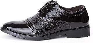 [PIRN] ビジネスシューズ メンズ 紳士靴 外羽根 オシャレ かっこいい 衝撃吸収 サイドゴア 営業マン 通勤 無地 冠婚葬祭 通学 通勤 結婚式 新生活 卒業式 入園入学 就職 就活 大人 快適 歩きやすい カジュアル 革靴