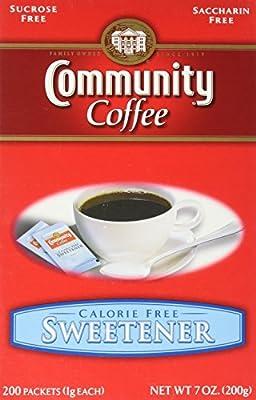 Community Coffee Sugar