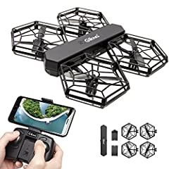 High-Definition Camera, Support FPV Real-Time Aerial Photography. Modular Design, Easy Carry. APP Control Avaliable, Gravity Sensing,Real-time Graphics, VR matchable Altitude Hold: Stable flight experience makes the scenery you see more clear. Easy C...
