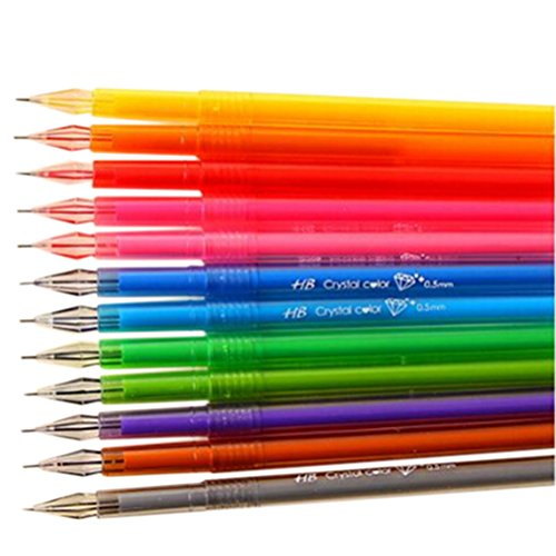 Buyta(TM) Gel Pen Set,Fine Point,Package of 12 [Office Product] Photo #1