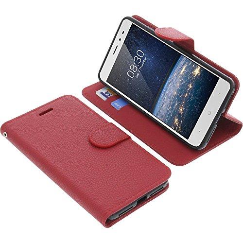 foto-kontor Tasche für TP-Link Neffos X1 Lite Book Style rot Schutz Hülle Buch