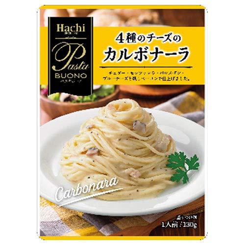 ハチ食品 パスタボーノ 4種のチーズのカルボナーラ 130g×24個入×(2ケース)