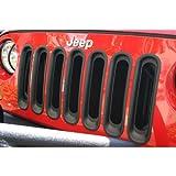 Rugged Ridge 11306.30 Black Grille Insert for 2007-18 Jeep Wrangler JK