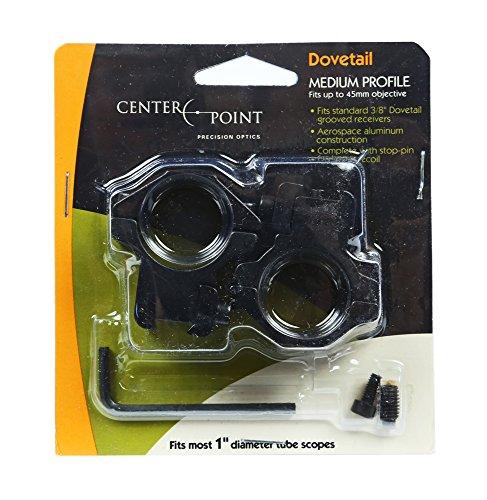 Crosman Center Point Full Size Two-Piece Medium Profile Integral Rifle...