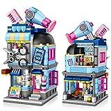 joylink Jeux de Construction, Salon de Coiffure Blocs de Construction Building Blocks Toys 403 Pièces Ensemble de Blocs et Briques Jouets Créatif Éducatifs pour Les Enfants Garçons Filles